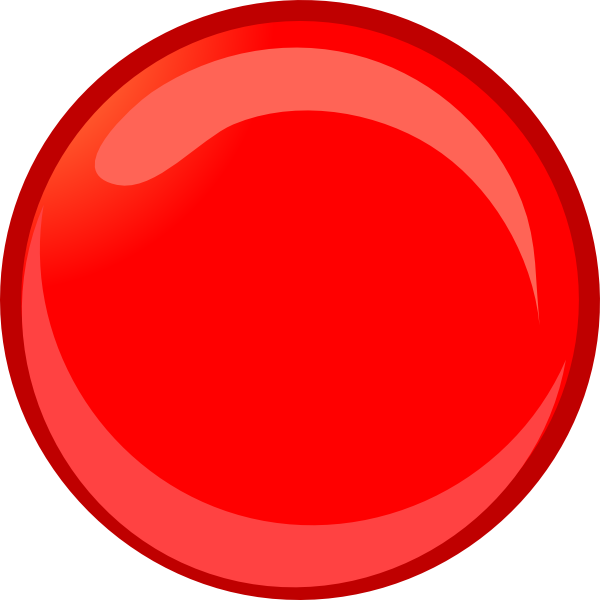 Marble Clipart red sphere