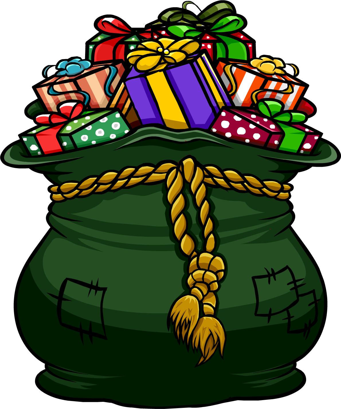 Marbles clipart sack. Supreme toy club penguin