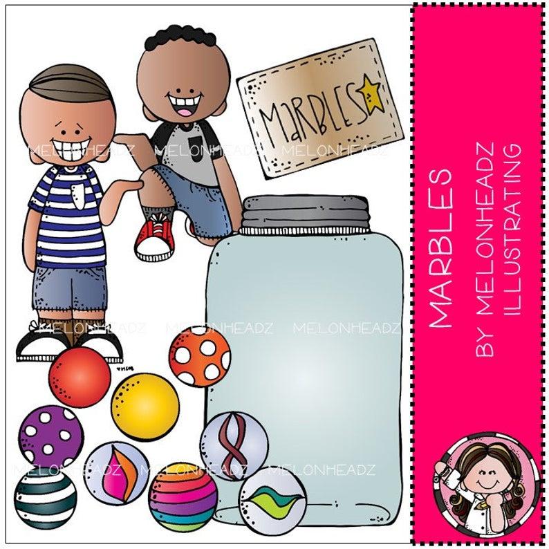 Clip art combo pack. Marbles clipart set