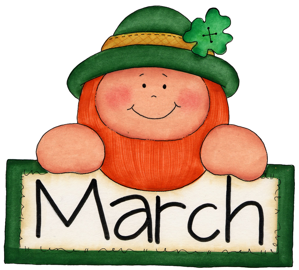 March Clip Art Free Printable