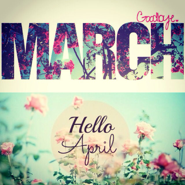 March clipart good bye. Goodbye hello april pictures