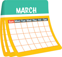 Search results for clip. March clipart june month