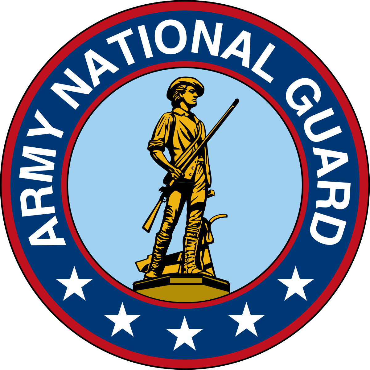 California army national guard. Military clipart troops us