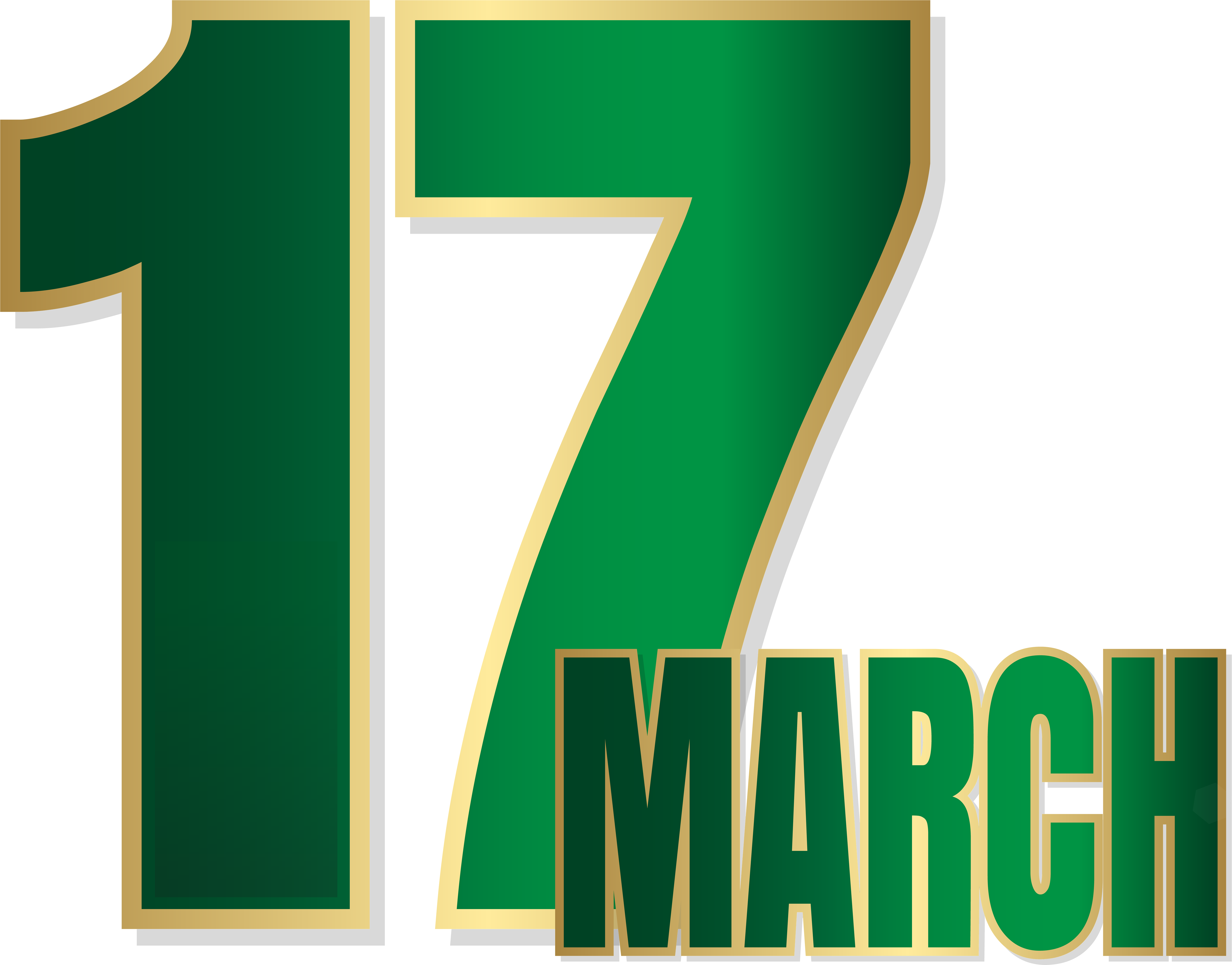 March clipart st pats. Patrick s day png
