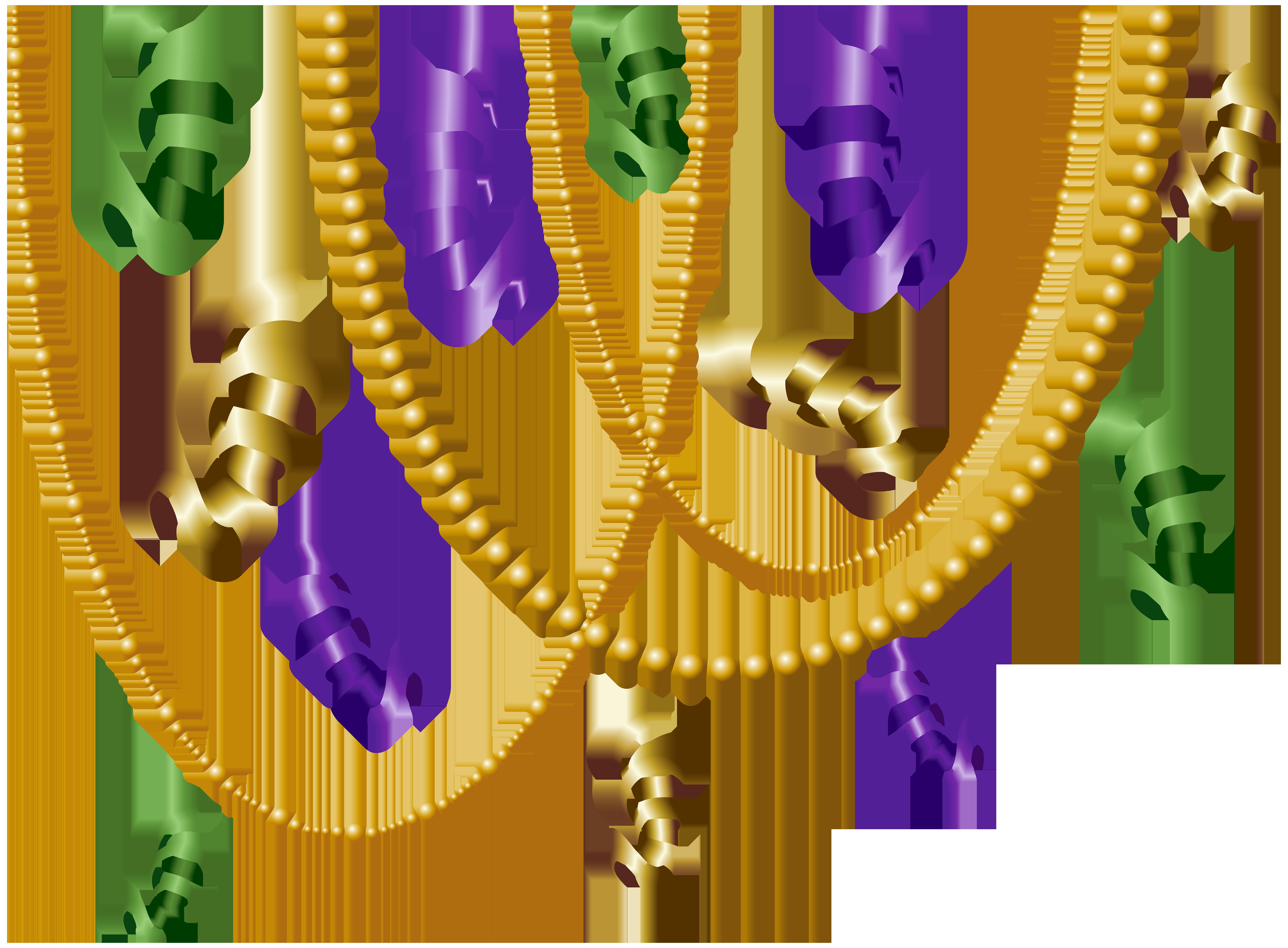 Decoration transparent clip art. Mardi gras border png