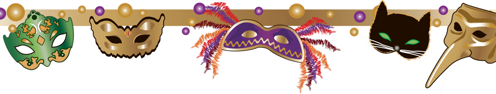 Mardi gras border png. The fattest of tuesdays
