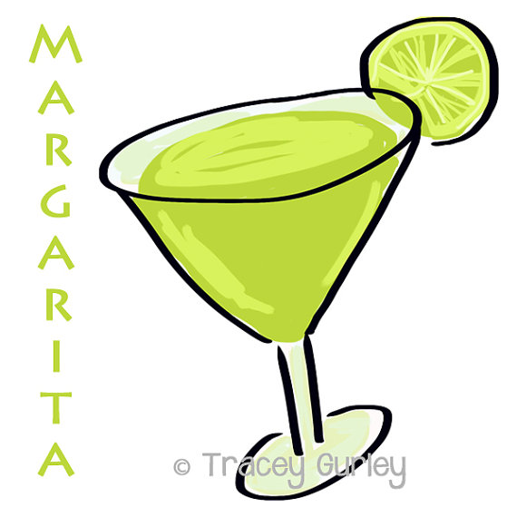 Illustration original art digital. Margarita clipart