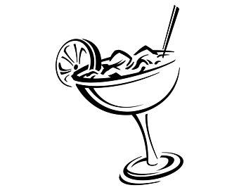 Etsy margaritas alcohol cocktail. Margarita clipart