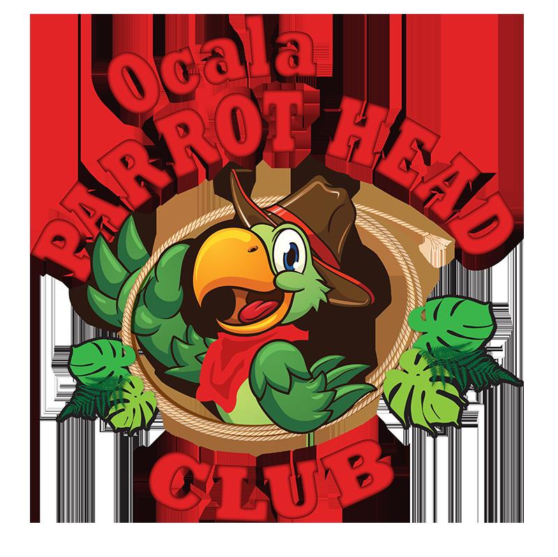 Home ocala club. Parrot clipart parrot head