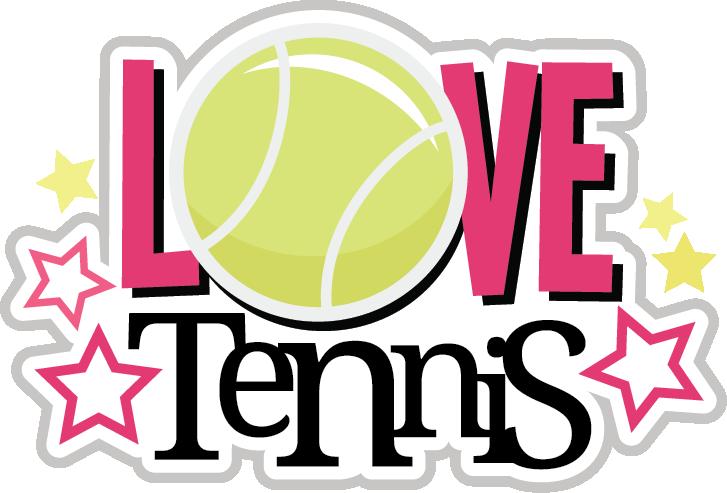 Words clipart tennis. Love svg scrapbook collection