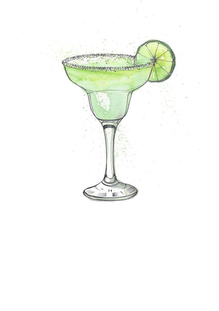 Margarita clipart watercolor. Pin on yar ma