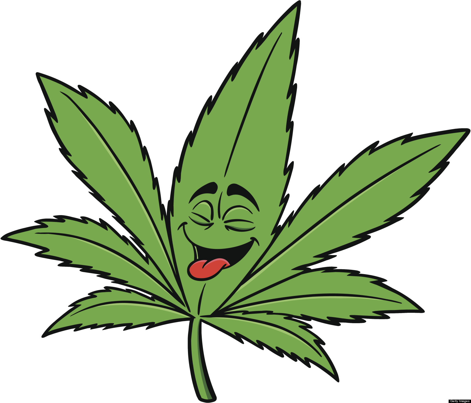 Cannabis leaf drawing i. Marijuana clipart