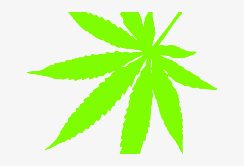 Pot leaf free transparent. Marijuana clipart daun