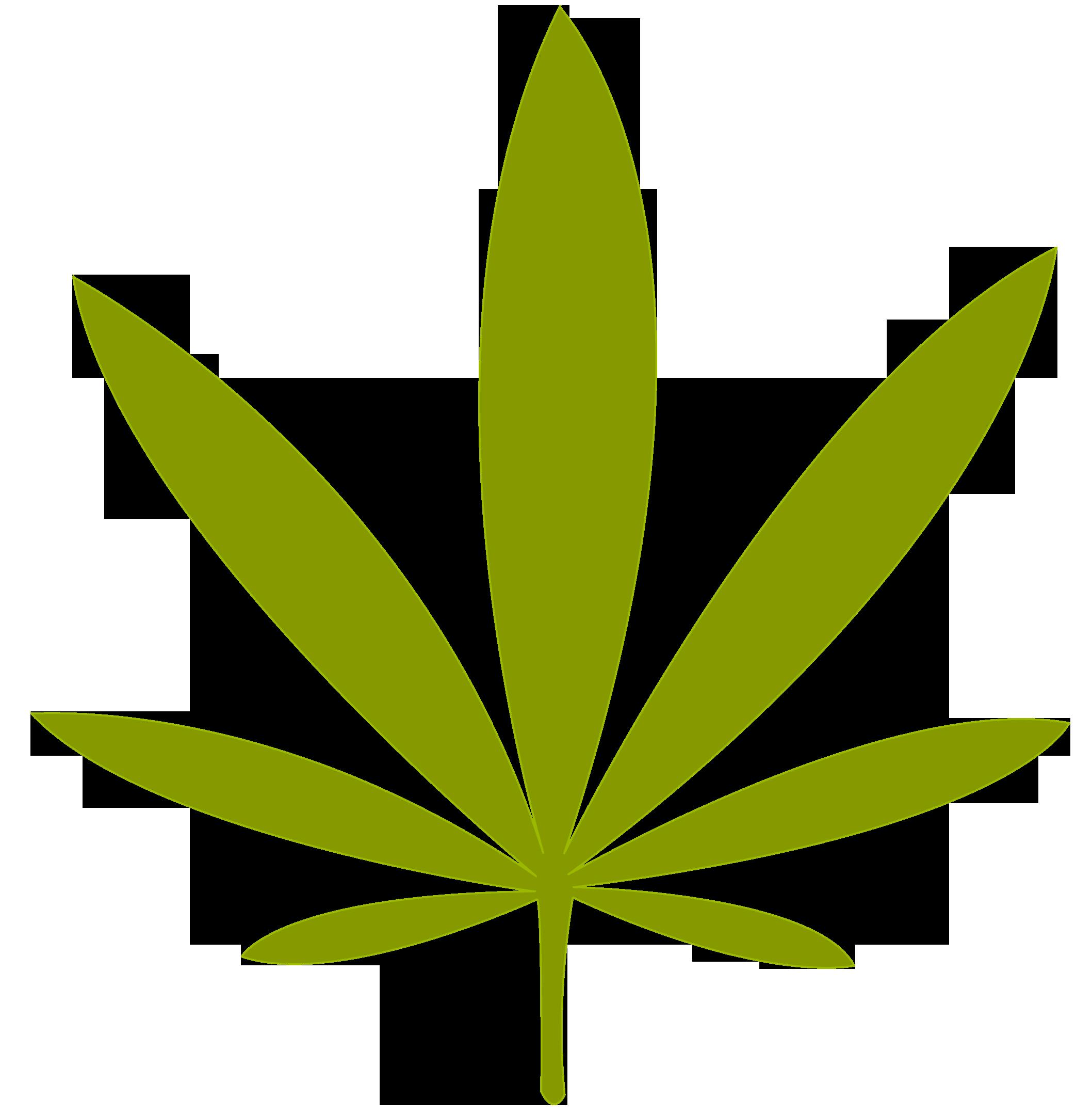 marijuana clipart draw