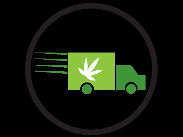 Herban planet cannabis business. Marijuana clipart eco car