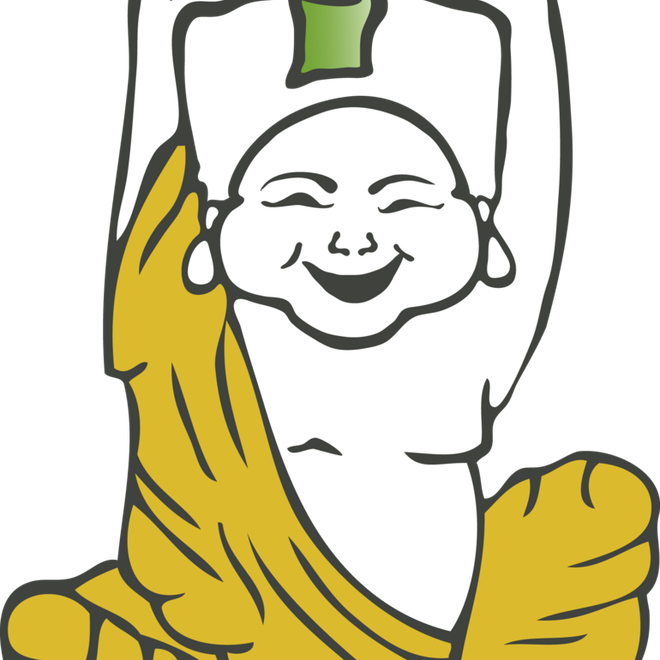 Happy buddha wellness center. Marijuana clipart finger