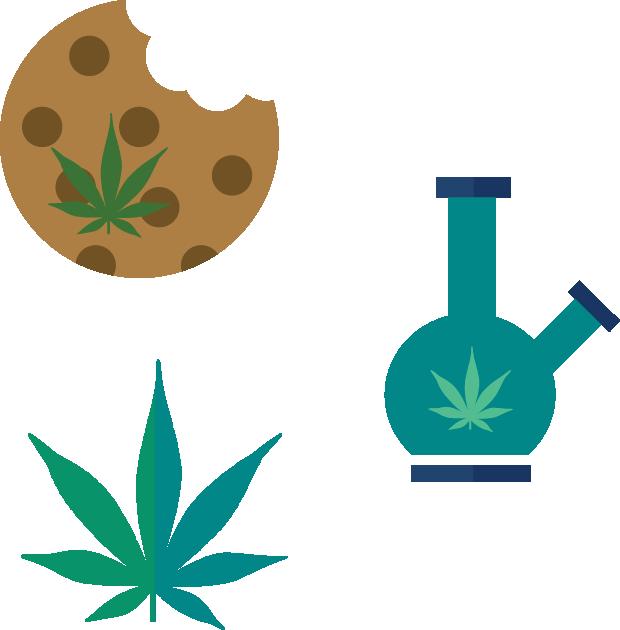 Party like a slug. Marijuana clipart illegal