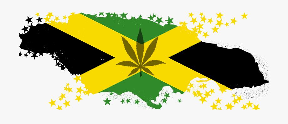 Marijuana clipart lit. Png jamaica map with