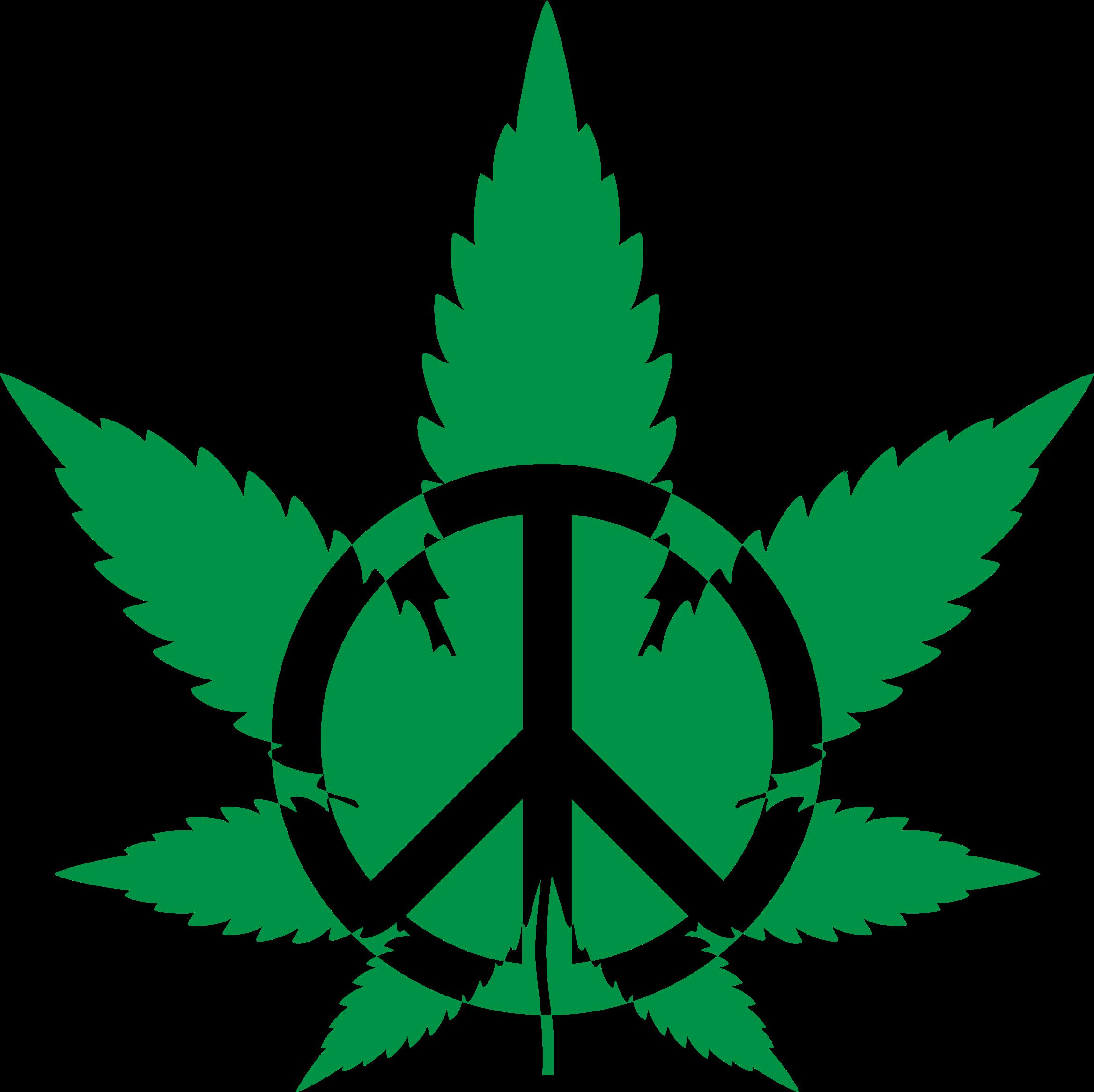 Peace big image png. Marijuana clipart pdf