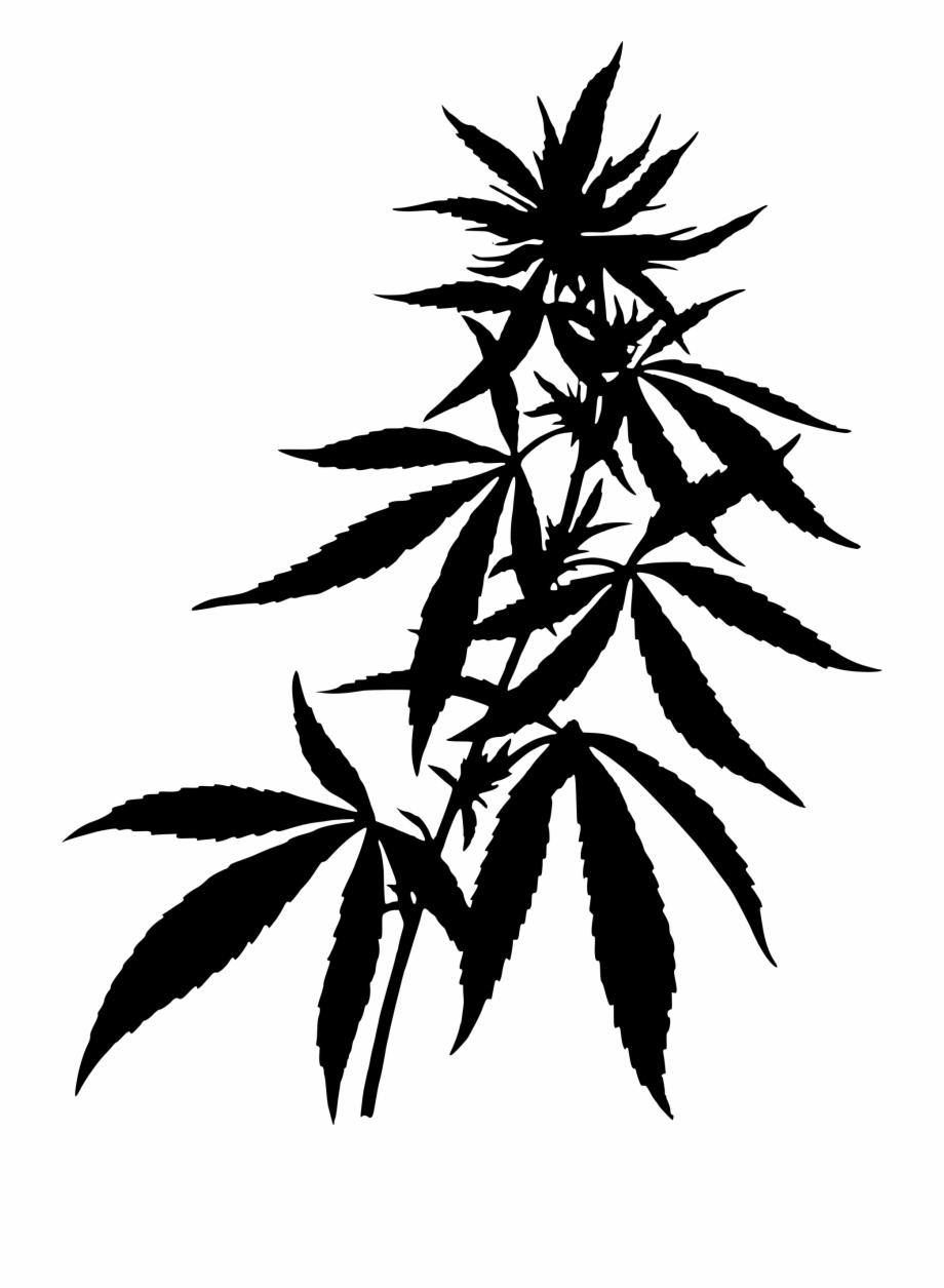 Download png clip art. Marijuana clipart silhouette