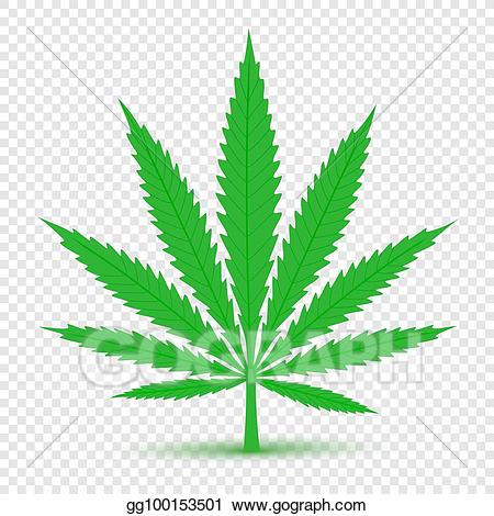 Marijuana clipart transparent. Vector stock cannabis icon