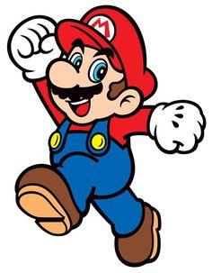 Mario clipart. Nintendo super party printables