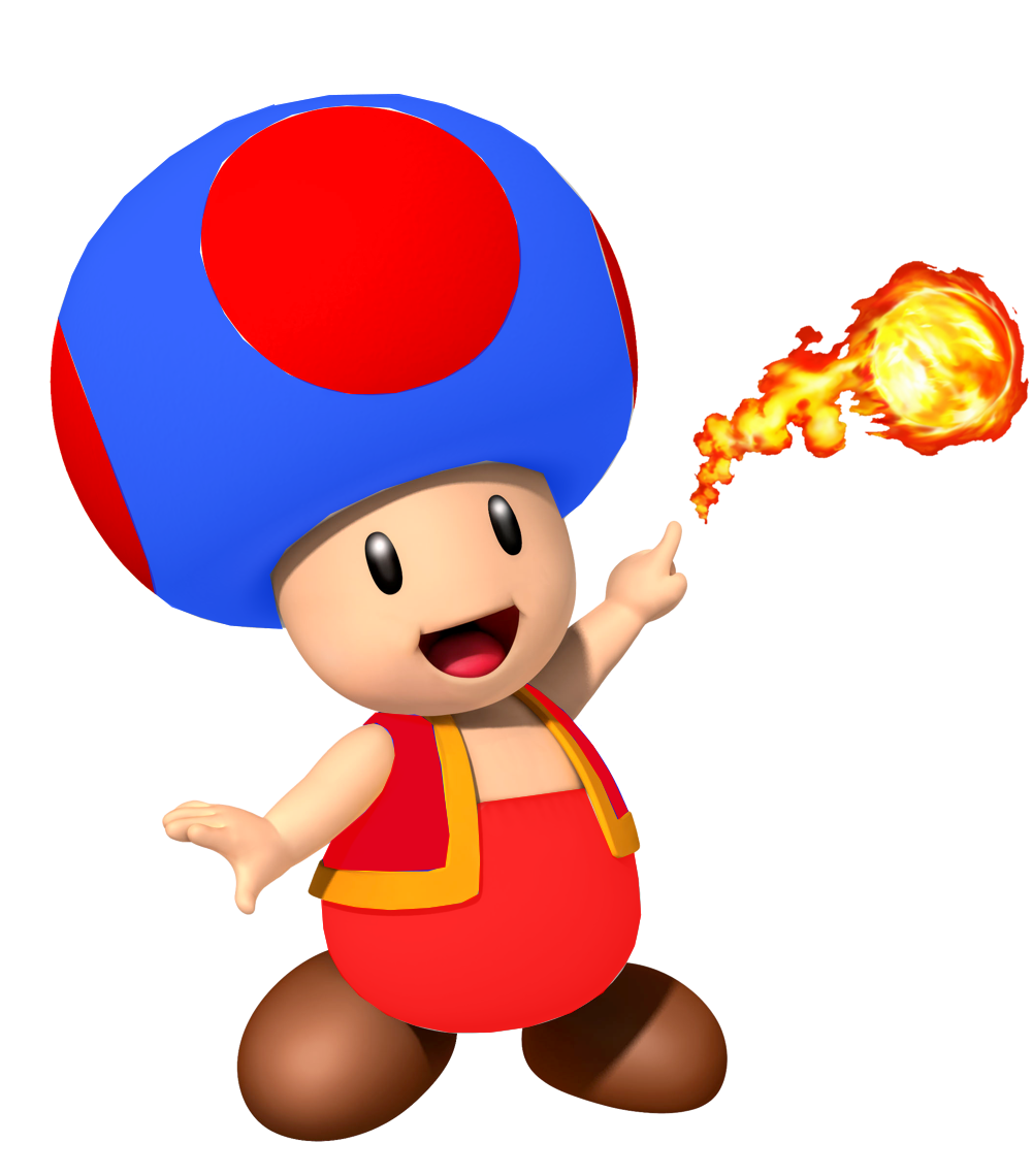 Mario clipart classic mario. Image fire blue toad