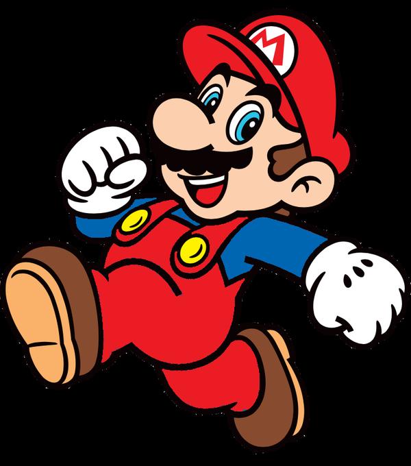 Mario clipart classic mario. Super d by joshuat