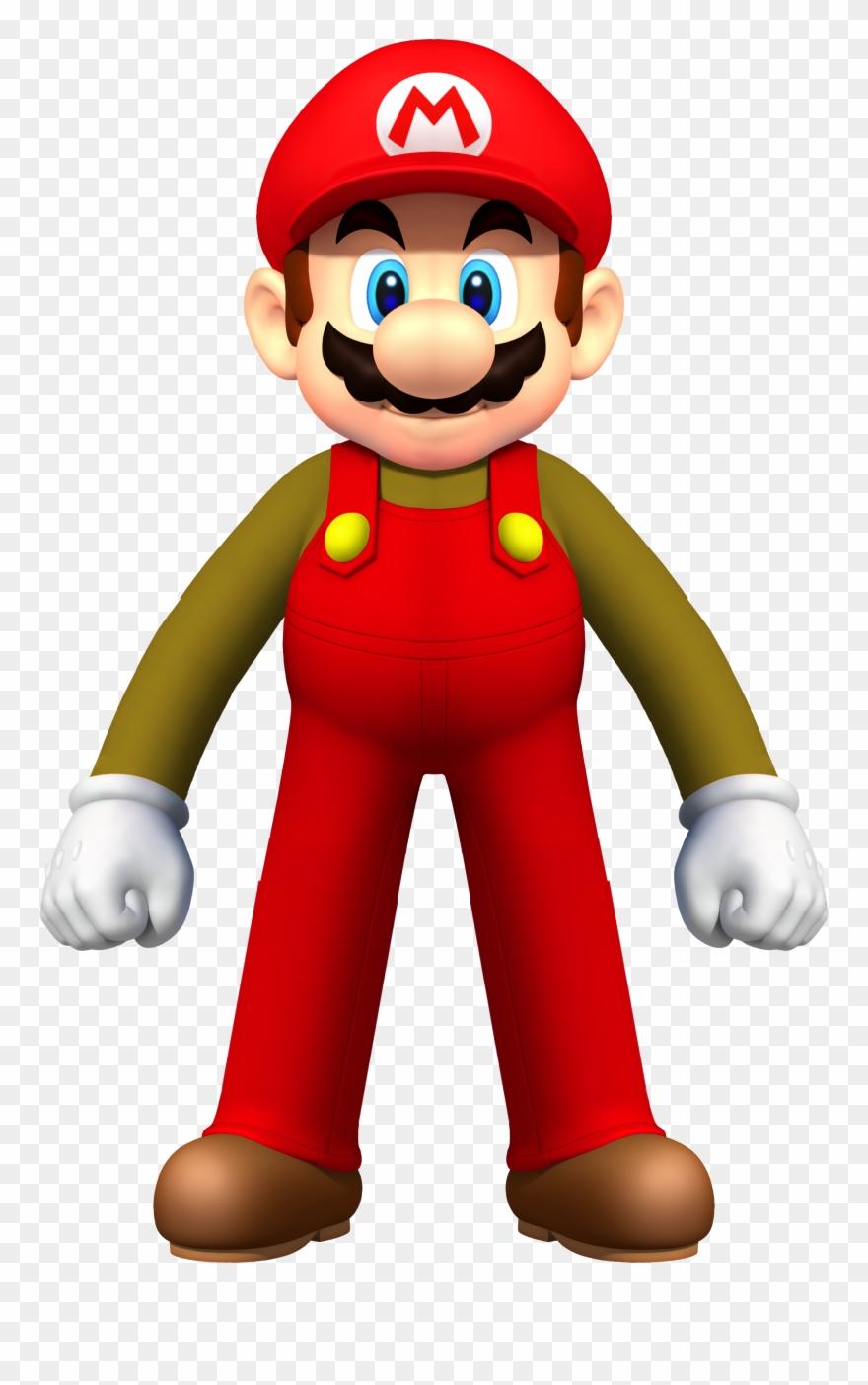 Mario clipart classic mario. Super png download