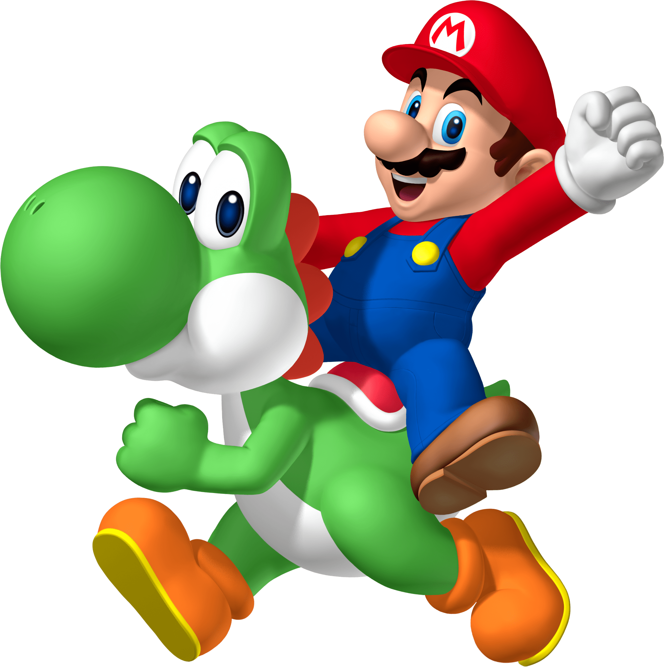 mario clipart clear background