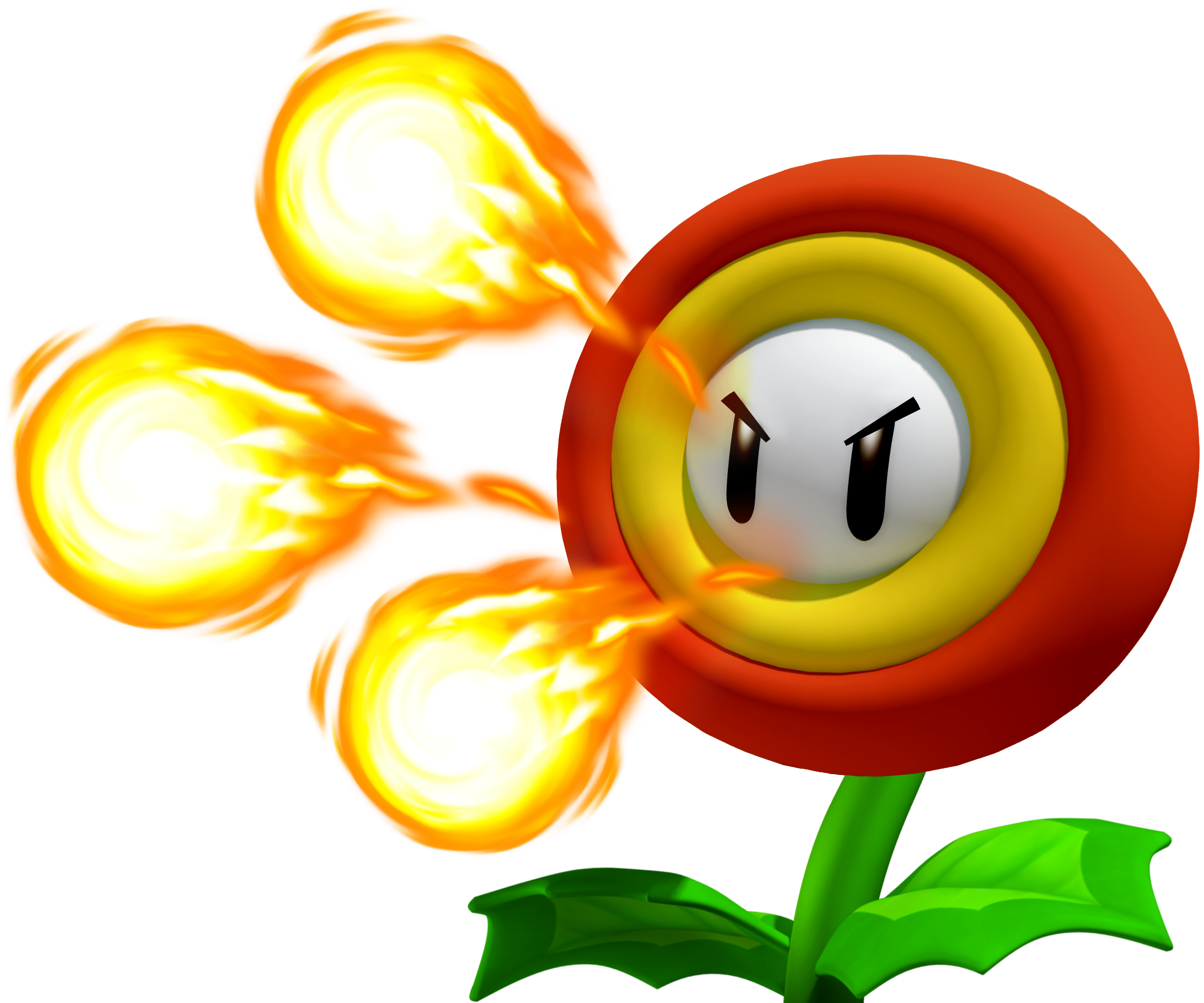 Fire flower png. Image fake fighters of