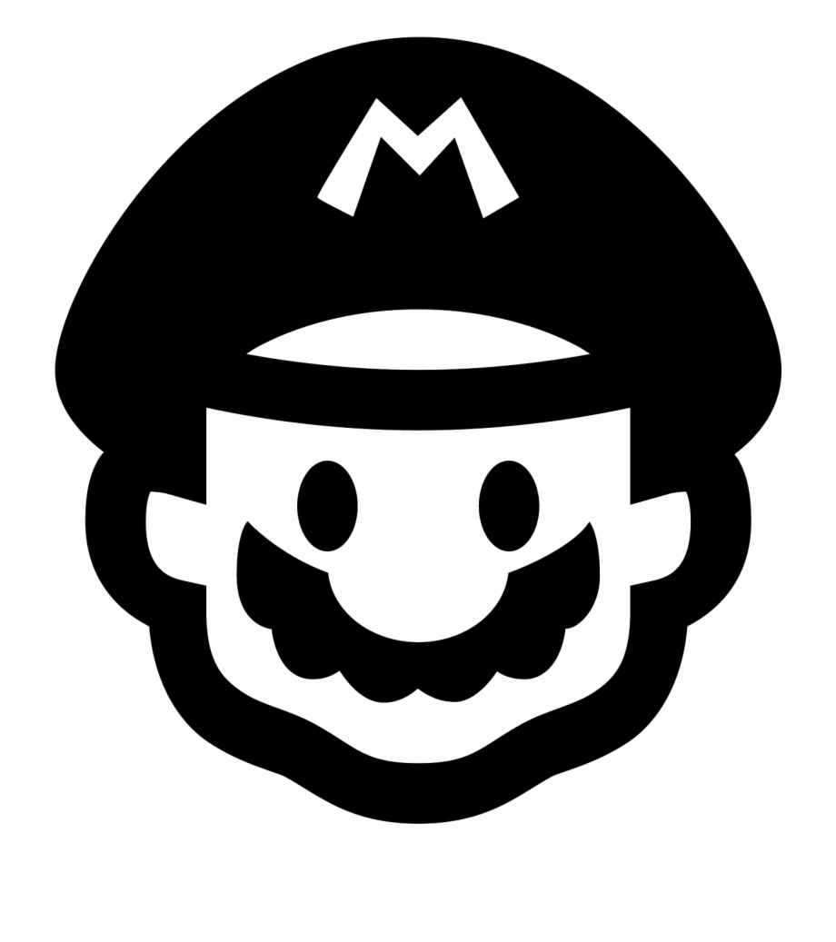 Mario clipart icon. Super clip art library