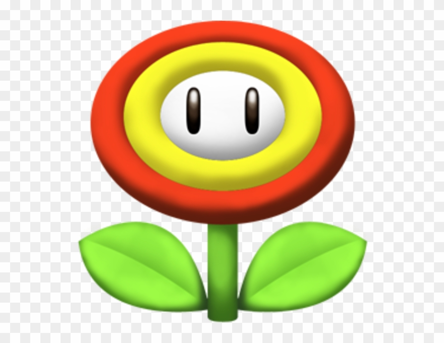 Mario clipart icon. Super icons flower pinclipart
