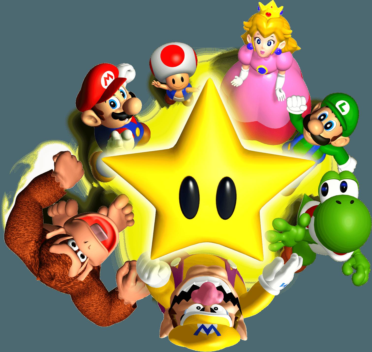 Party nintendo artwork including. Mario clipart mario birthday