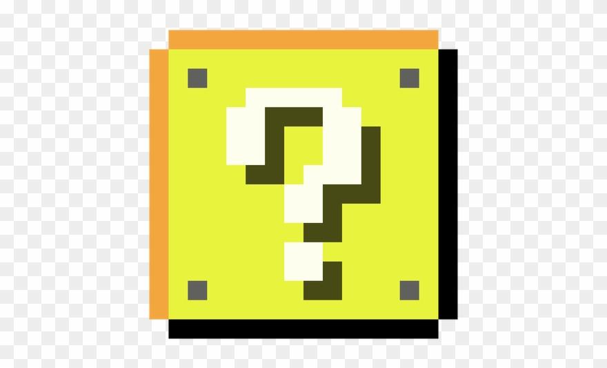 Blocks png transparent background. Mario clipart mario block