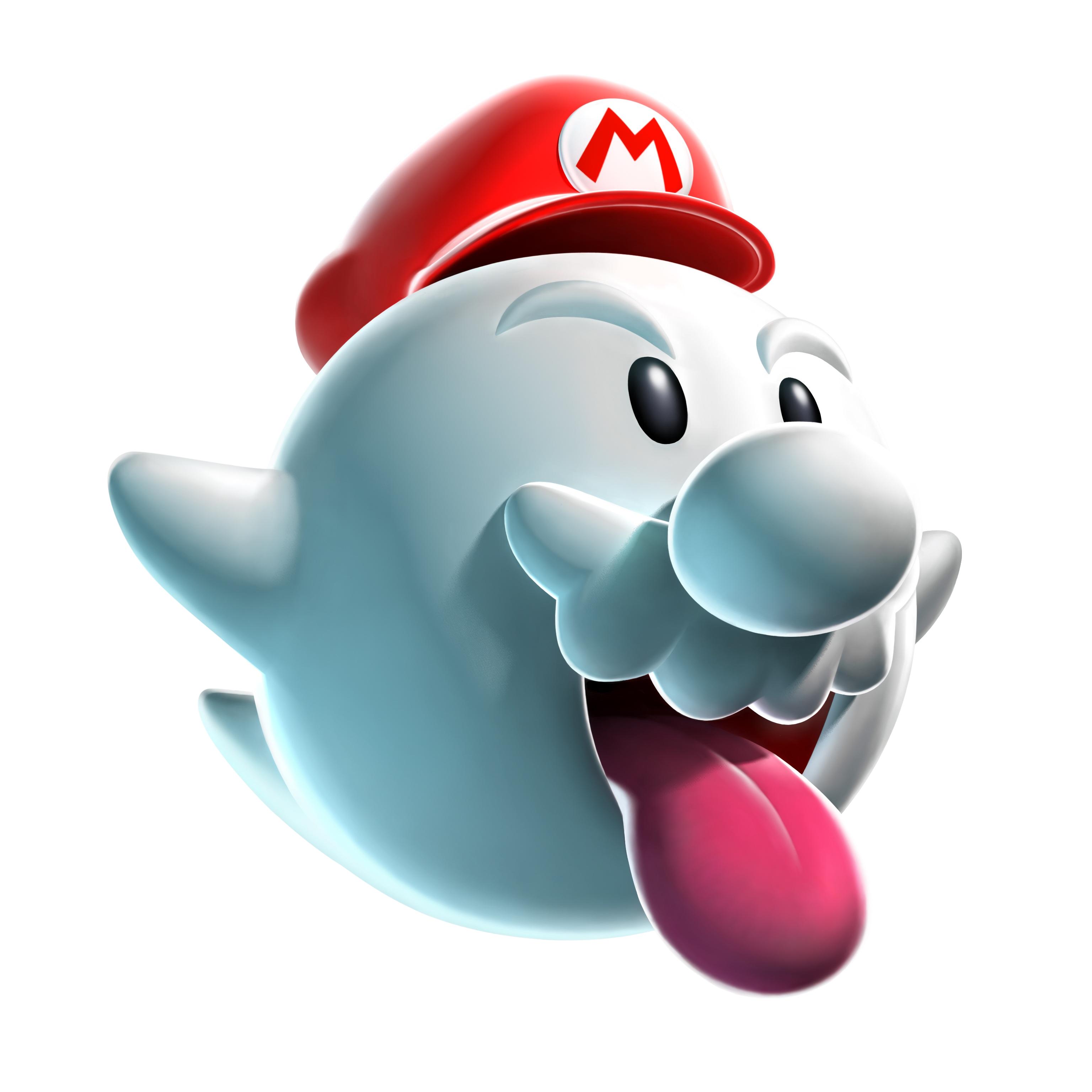 Mario clipart mario ghost. Newer super world returns
