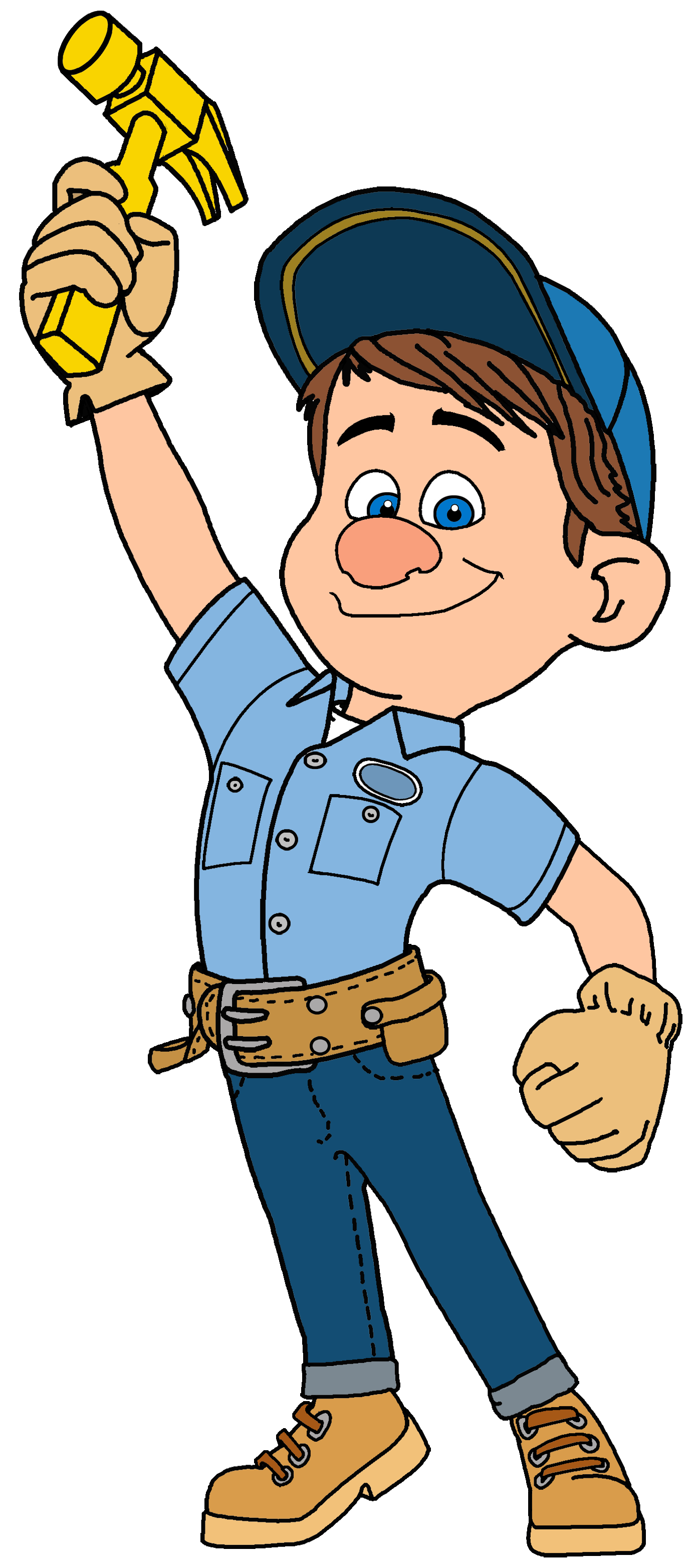 Fix it felix jr. Responsibility clipart busy person