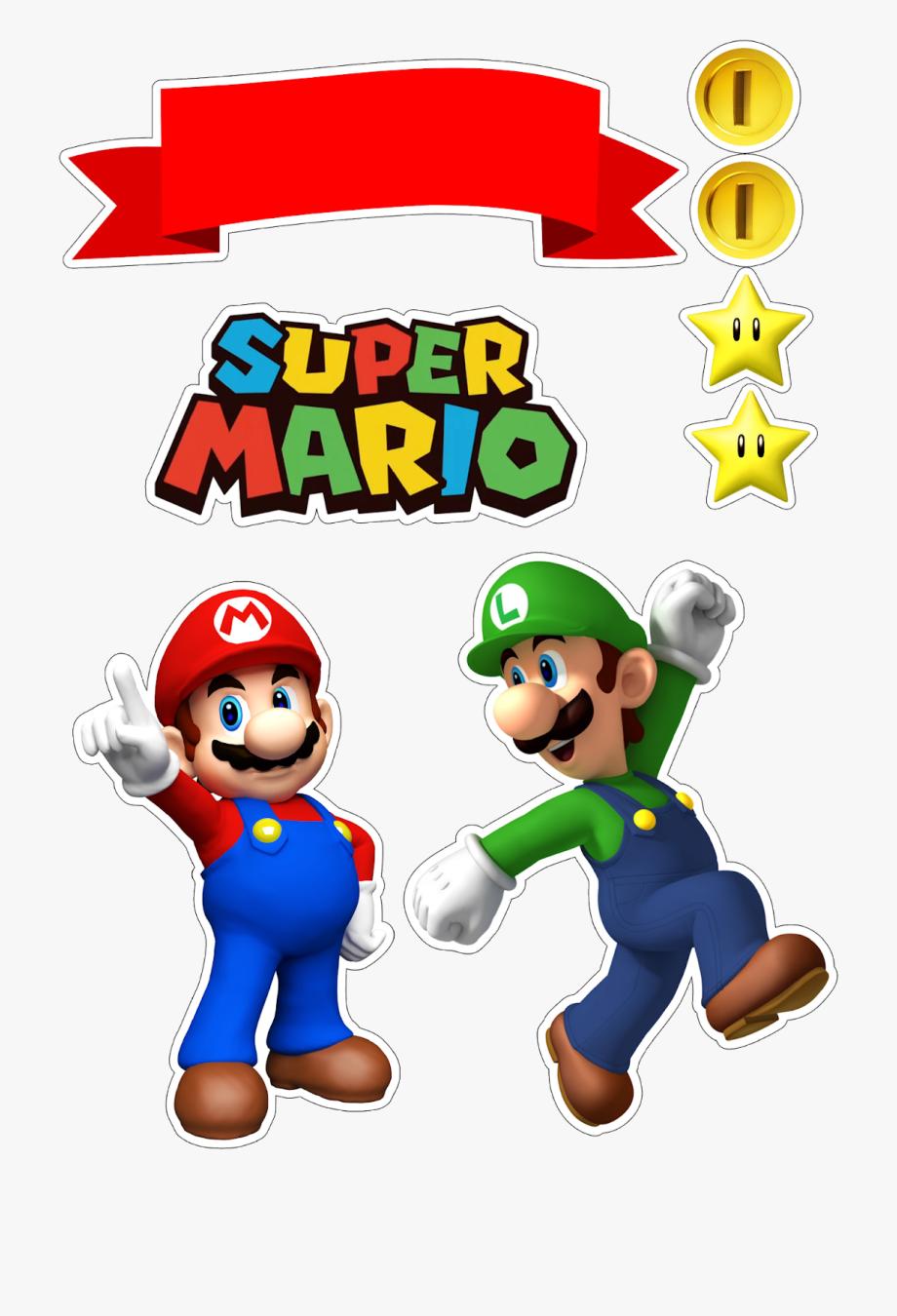 Mario clipart random. And luigi free