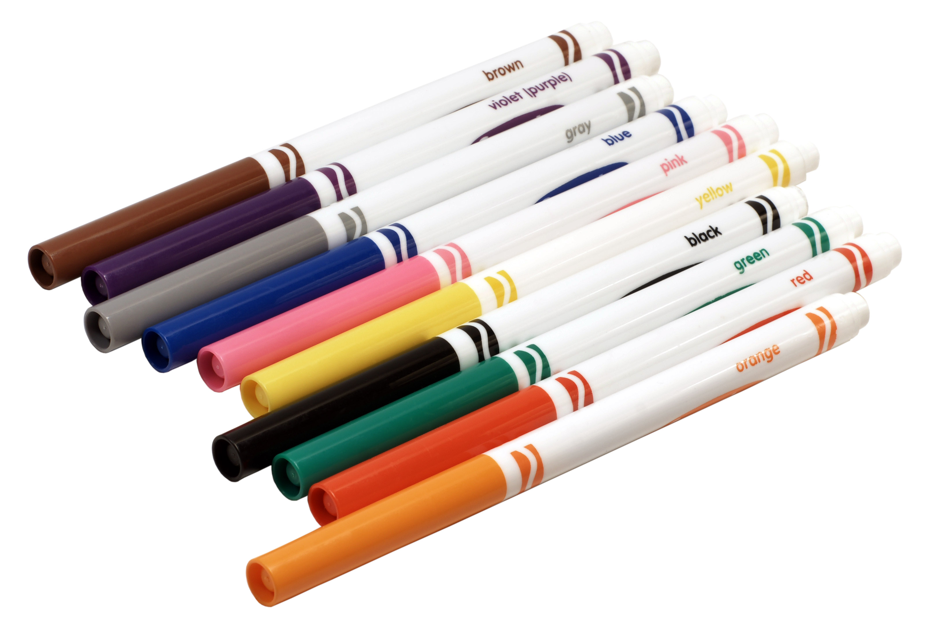 Crayola markers . Marker clipart
