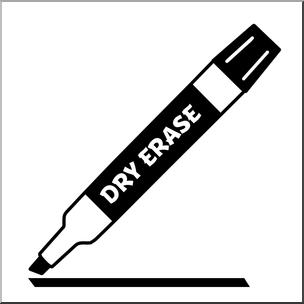 Marker clipart. Clip art dry erase