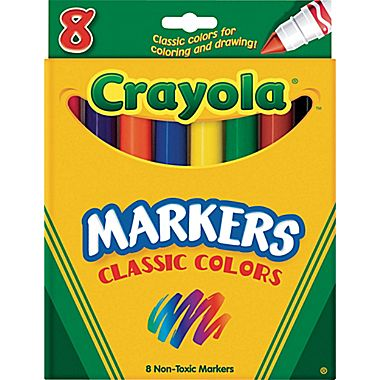 Markers clipart box marker. Crayola free download best