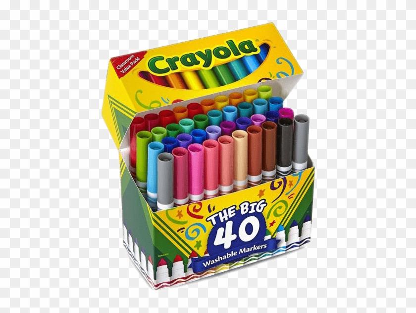 Markers clipart broadline.  crayola washable broad