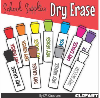 Markers clipart dry eraser. Erase marker in rainbow