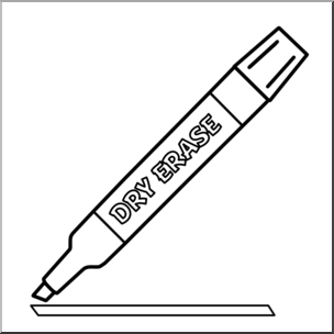 Markers clipart expo marker. Clip art dry erase