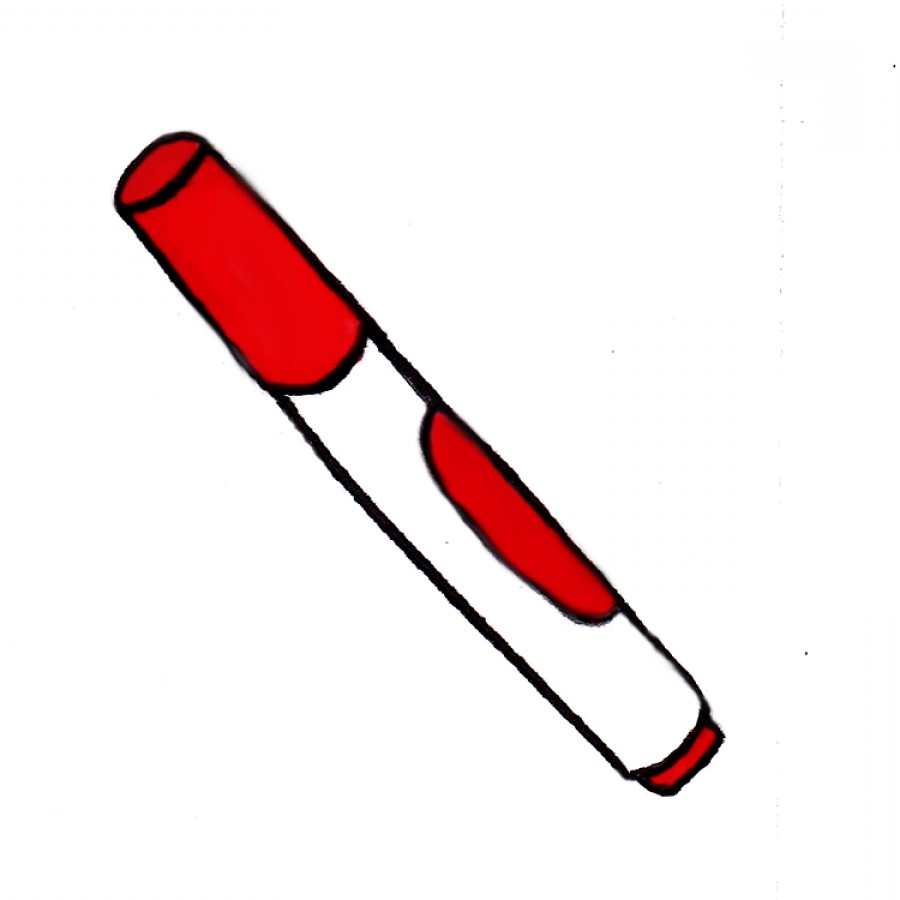 Markers clipart red marker. Crayola free download best