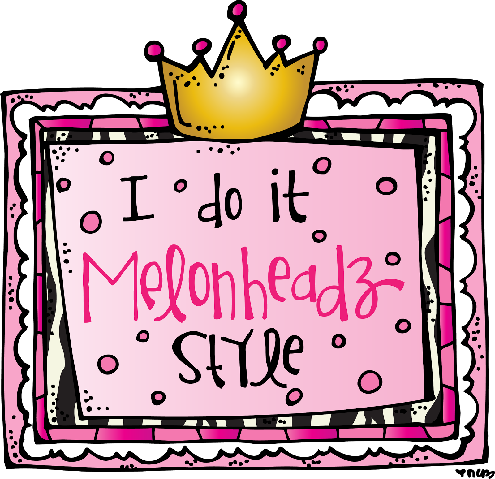 Melonheadz style wednesday january. Markers clipart pink highlighter