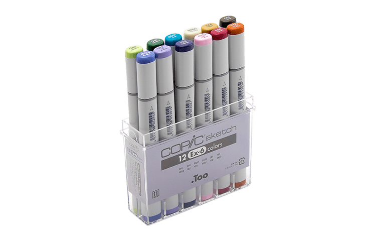 Markers clipart color marker. History of copic official