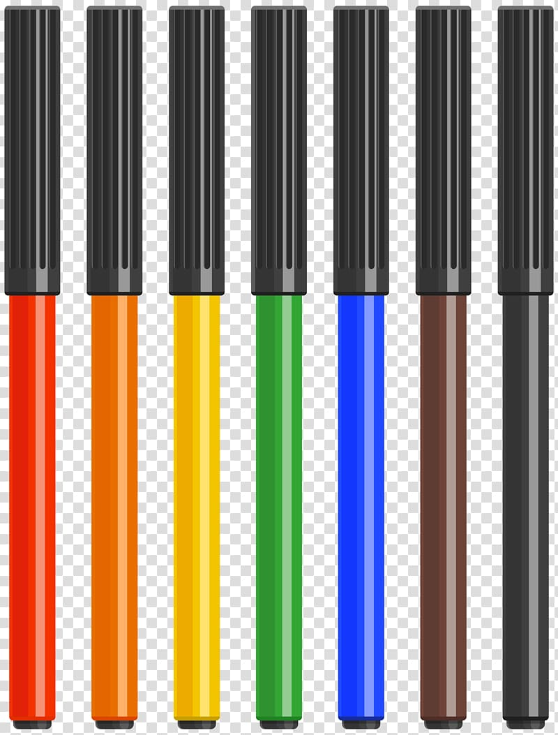 Markers clipart transparent background. File formats lossless compression