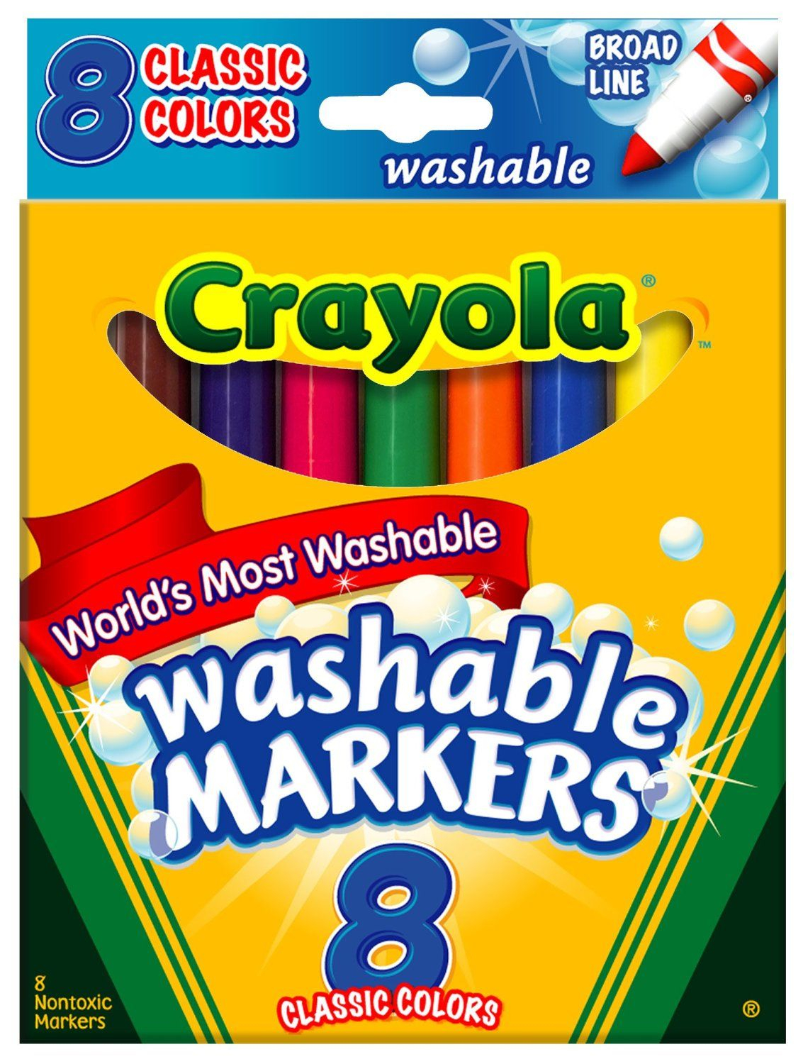 Markers clipart washable. Marker to print free