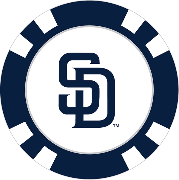 San diego padres poker. Markers clipart 5 thing
